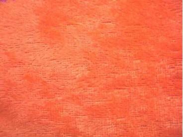 Velours de Panne  Fluor Oranje