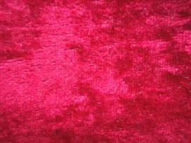 2x Velours de Panne  Warm Rood  5666-16N