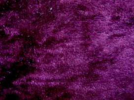 2z Velours de Panne  Donker Bordeaux  5666-19N