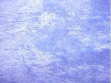 Velours de Panne  Lichtblauw