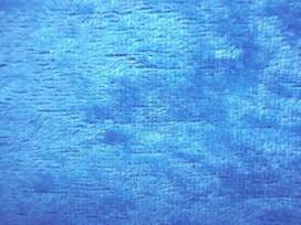 Velours de Panne  Aqua 5666-004N