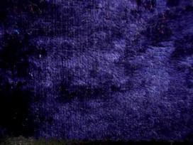 Velours de Panne  Donkerblauw 5666-008N
