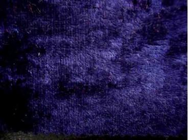 Velours de Panne  Donkerblauw