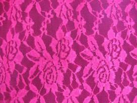 Soepel kantstof  Pink