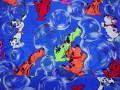 5d  Carnavalstof  Kobalt met honden  C4