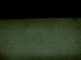 Een mooi kwaliteit, wat stugge zwarte suede. Polyester e.d.  1.45 mtr.breed