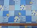 4u Dapper katoen Danseres Blok Blauw/grijs 2142-8N