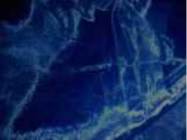 1i Organza kobalt 308