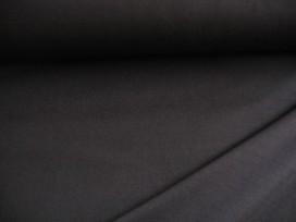 Iets dikkere kwaliteit Zwarte tricot. Ook heel geschikt voor jurkjes en rokjes. 70%pe/27%visc./3%sp. 1.50 mtr.br.