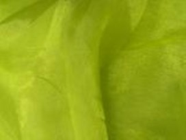 Organza stof mosgroen