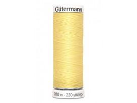 Gutermann garen 200 meter   Zachtgeel  Kleurnummer 578