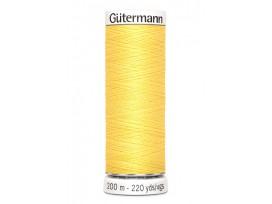 Gutermann garen  200 meter  852 Geel