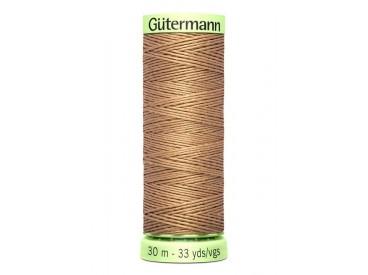 Wat dikker siersteekgaren van Gutermann    Lichtbruin  139  30 mtr