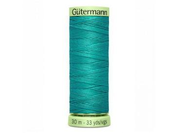 Wat dikker siersteekgaren van Gutermann  Turquoise   235  30  mtr