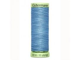 Wat dikker siersteekgaren van Gutermann  Blauw  143  30  mtr