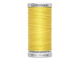 Supersterk garen van Gutermann  Geel  327  100  mtr