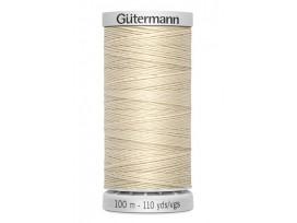 Supersterk garen van Gutermann  Lichtbeige 169  100 mtr