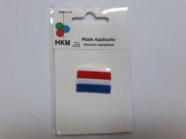 Applicatie Nederlandse vlag 3x2cm.