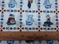 Delftsblauw 9 Boer en Boerin Gekleurd