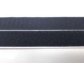 Opplakbaar klitteband zwart  2 cm breed