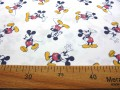 Disney stof van de beroemdste muis ter wereld: Mickey Mouse  100% Gekaard poplin katoen (100% American Carded Cotton Poplin)  15