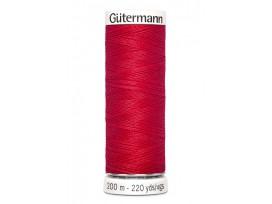 Gutermann garen rood 200 mtr.  Kleurnummer 156