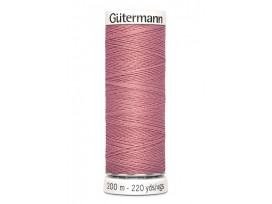 Gutermann garen 200 meter Oud roze  473