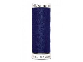 Gutermann garen donkerblauw 200 mtr.  Kleurnummer 309
