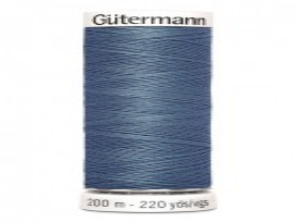 Gutermann garen 200 meter Denim blauw 076