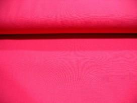 Effen katoen Pink past bij de boerenbont ruit Pink 8118