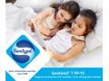 Antibacteriële  witte katoen.  (Sanitized® T99-19). 100 % katoen.  1,45-1,50 meter breed  140 gram per m²