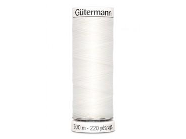 Gutermann garen Wit  200 mtr  800