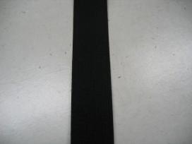 Stevig elastiek 20 mm.  Zwart