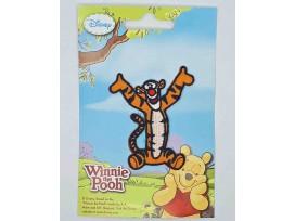 Winnie de Pooh applicatie  Tijgetje stuiterend
