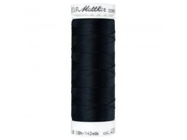 Seraflex elastisch garen  Zwart Kleurnummer 4000 Black
