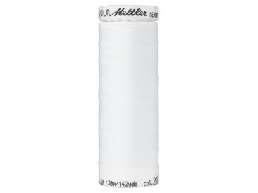 Seraflex elastisch garen  Wit Kleurnummer 2000  White
