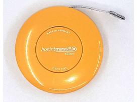 Rolcentimeter Automatisch oprolbaar Geel
