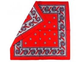 Boerenzakdoek  Rood harlekijn BZ5