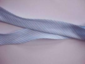 5g Biaisband gestreept Lichtblauw 415
