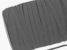 Stevig elastiek 5 mm breed.  Zwart  Geschikt voor mondkapjes