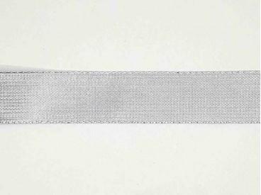 Sierlint Zilver kleur van 23 mm breed  De prijs is per meter.  Minimale afname is 1 meter
