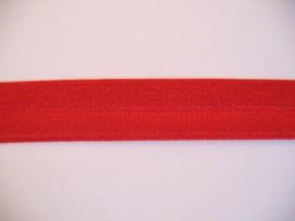 9f Elastisch biaisband Helder Rood 455