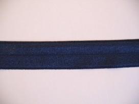 Elastisch biaisband Donkerblauw 458