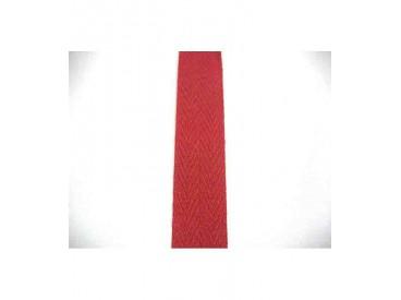 Keperband 2cm. Donker rood
