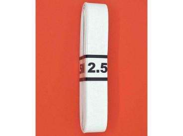 Bundel stevig elastiek  Wit  2 cm