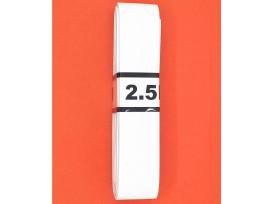Bundel stevig elastiek  Wit  3 cm