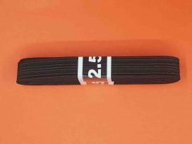 Bundel pyjama elastiek Zwart  2 cm