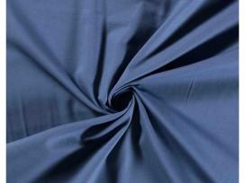 Effen katoen Jeansblauw  5580-006N
