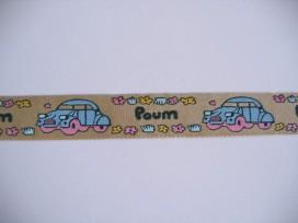 9x O sierband Car Poum Zand/blauw 802