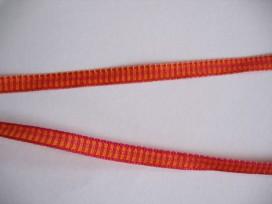 9t O sierband oranje/rood 5 mm. 806